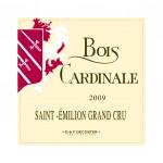 Etiquette Bois Cardinale 2009