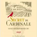 Etiquette Secret de Cardinale 2008