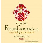 Etiquette Fleur Cardinale 2009