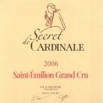 Etiquette Secret de Cardinale 2006