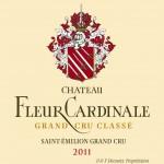Etiquette Fleur Cardinale 2011