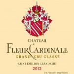 Etiquette Fleur Cardinale 2012