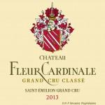 Etiquette Fleur Cardinale 2013