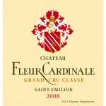 Etiquette Fleur Cardinale 2008