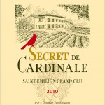 Etiquette Secret de Cardinale 2010