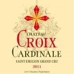 Etiquette Croix Cardinale 2011