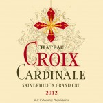Etiquette Croix Cardinale 2012