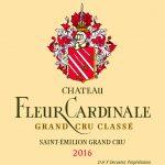 Etiquette Fleur Cardinale 2016