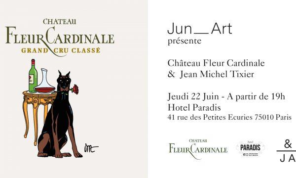Etiquette collector – Junart & Jean-Michel Tixier